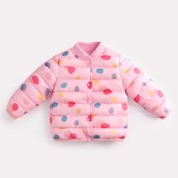 качество новорожденных девочек мальчиков свет дети куртка капюшон утка вниз пальто зимняя детская куртка осень малыша верхняя одежда пальто supplier children fall down от Поставщики дети падают