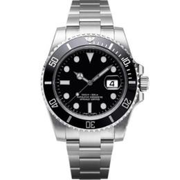 relógio feminino vintage vintage Desconto Luxury Mens Watches Quality Watches Top Men Luxury Stainless Steel Strap Automatic Mechanical Watch 2813 Movement Wristwatch Sapphire