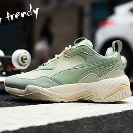 size 40 ad82f 58fbf Thunder desert INS 2018 scarpe da corsa coppia rihanna sneakers uomo e  donna modelli coreano scarpe sportive a vento y3factory scarpe sportive per  adulti