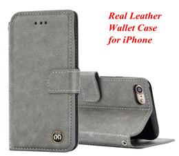 billetera tarjeta de crédito soporte cuero Rebajas Funda de cuero mate Funda para tarjeta de crédito Funda para iPhone 8 Plus Xs Max XR Samsung S9 S10 Funda de cuero real