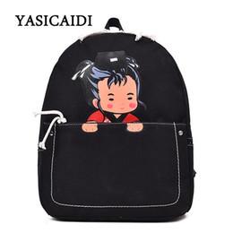 e61130c250 Tuladuo New Spring School Bags For Teenager Girls Women Backpacks Cute  Pattern Design Bookbag Shoulder Bag Female Canvas Mochlia