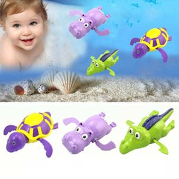 1 Pcs Wind Up Clockwork Kid Baby Toy Gift Shark Bath Swimming Shower Play In UK