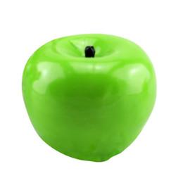 Cera di candele verdi online-Candela profumata a forma di mela verde Frutta Decorazione per la casa Candela natalizia Compleanno Lampada Paraffina Cera Caldo Nuovo