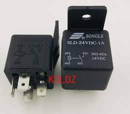 1PC NEW Songle Relay SLD-24VDC-1A 40A14VDC