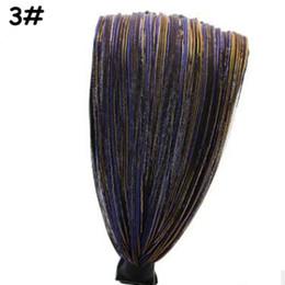 Un bandeau large pour femmes en tissu prend les dents pour empêcher les cheveux glissants de jouer le rôle de l'édition féminine de la coiffe en bourgeon de serre-tête en dentelle ? partir de fabricateur
