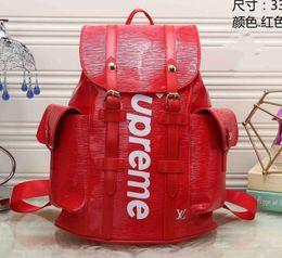 Il trasporto libero 2019 donne di lusso zaino uomini borsa zaino designer zaini zaino da viaggio delle donne degli uomini zaino E1 da nuova tromba di tasca fornitori