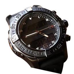 elettronica di visualizzazione Sconti 2019New mens designer orologio multifunzione cronografo elettronico display moda uomo sport orologi avengers orologio da polso di lusso reloj