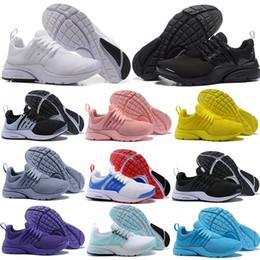 brand new 51042 87ef7 Nike Air Presto Ultra OFF WHITE Airmax Free Run roshe Marca Presto 5 BR QS  Purple Air Off Donna Sneaker Triple Nero Bianco Rosso Scarpe da corsa Mens  ...