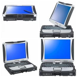 2019 hardbook portátil 2019 de calidad superior Super Toughbook CF19 CF-19 portátil I5 8GB Toughbook portátil CF 19 cf19 con 1TB HDD DHL Envío Gratis rebajas hardbook portátil