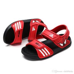Новый 2019 детские бренды обувь летние сандалии мальчики пляжная обувь девушки конфеты цвета сандалии милые улыбающиеся лица сандалии бесплатная доставка от Поставщики улыбающиеся мальчики
