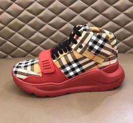 Clássico vestir-se on-line-5A + qualidade! Moda quente homens botas lace-up colar homens mulheres sapatos confortáveis homens sapatos de lazer mais clássico Moda tênis Vestido Sapato o6