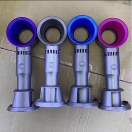 Bladeless вентилятор X9S мини портативный стол/Стол воздушный охладитель USB аккумуляторная съемная подставка вентилятор с светодиодный дисплей светло-в розничной упаковке от