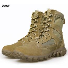 leichte wanderschuhe Rabatt CQB Outdoor Sports Tactical Combat Boots Herren Leichte Trekking Wanderschuhe Verschleißfeste Schuhe für die Jagd Klettern # 97221