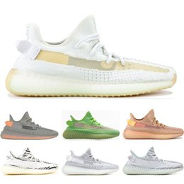 2019 Zapatos estáticos GID CLAY HYPERSPACE Crema de forma verdadera Zebra Bule Tint triple blanco zapatillas para hombre zapatillas de deporte deportivas tamaño 36-45 desde fabricantes