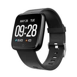 pk fitbit Coupons - Y7 Smart Fitness Bracelet Mi band 3 ID115 Plus Blood Pressure Oxygen Sport Tracker Watch Heart Rate Monitor Wristband Pk Fitbit Versa Ionic