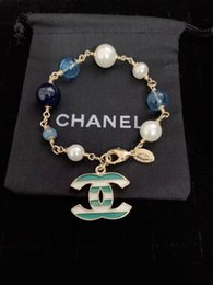 armband lila gold Rabatt hohe qualty Charm Armband Gold Silber Pandora Armbänder für Frauen Royal Crown Armband lila Kristall Perlen Diy Schmuck mit benutzerdefinierten Logo