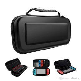 interruptor cubierto Rebajas Mejor vendedor Portátil EVA Funda de la bolsa de almacenamiento Fundas para Nintendo Switch Estuche portátil NS NX Consola protectora Shell duro Controlador Viajes