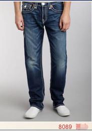 Jeans para hombre de rock revival online-Envío gratis 2017 nuevos jeans elásticos verdaderos para hombre Robin Rock Revival Jeans Crystal Studs pantalones de mezclilla pantalones de diseñador talla de hombre 30-40