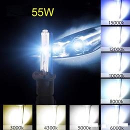 Lâmpada de nevoeiro vermelha h11 on-line-H1 H3 H7 H8 H9 H11 H10 ESCONDEU Farol de Lâmpadas de Xenônio Branco Substituição 6000 K 12 V 55 W luz de Nevoeiro Carro fonte de Luz Auto