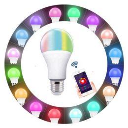 2019 chiaro candelabri matrimonio Vendita calda di trasporto 2pack smart vita Wifi LED lampadina 12 v LED lampada E27 Smart RGBW bianco freddo bianco caldo lampada Led luce compitable con Alexa
