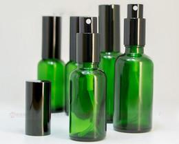 botellas de spray de vidrio verde al por mayor Rebajas Precio al por mayor 10 ml 15 ml 20 ml 30 ml 50 ml 100 ml Botellas de perfume de vidrio Portátil Perfume de viaje Botella atomizador Bomba de perfume en spray verde