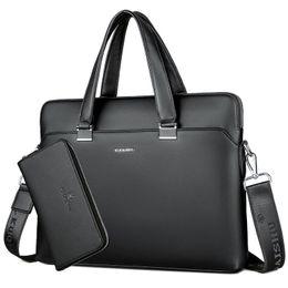 La cartera del bolso de los hombres de negocios BERAGHINI diseñador de la PU del cuero del ordenador portátil la oficina del bolso de gran capacidad de hombro Bolsas Maletín masculinos desde fabricantes