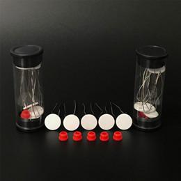 1,3 mm Dicke 11 mm Durchmesser Keramik-Heizwendel für Puffco Peak Zerstäuber Reparatur Ersatzwachs-Verdampfer Coilless-Technologie von Fabrikanten