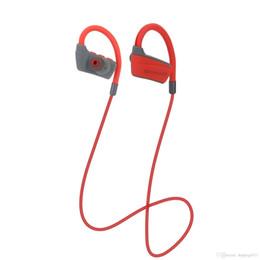 Хорошие басовые наушники онлайн-Хорошее качество Оптовые Удобные Беспроводные Наушники Bluetooth V4.2 Спорт Бег Шумоподавление Super Stereo Bass In Ear наушники
