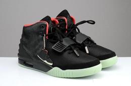 Argentina (Con la caja) Famosa marca de moda de la venta caliente Kanye West II 2 zapatos de baloncesto de los hombres deporte al aire libre calzado zapatillas de deporte casual cómodo supplier famous footwear men Suministro