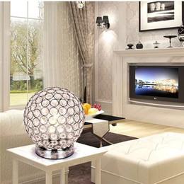 Lampade da tavolo moderne in cristallo per camera da letto, soggiorno, studio, lampada da tavolo moderna in cristallo per ufficio Spedizione gratuita da regali ginnastici fornitori