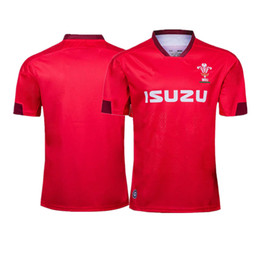 cb66077f852 2019 Wales rugby jerseys shirt red men shirt size S-3XL Spain Rugby League shirt  jersey Top quality free shipping wales rugby shirt on sale