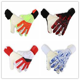Ad-fußball online-923 AD Luhuang 2018 Männer Soccer GoalKeeper Silica Gel Handschuhe Finger Latex Volleyball Sporthandschuhe Größe 8 # 9 # 10 #