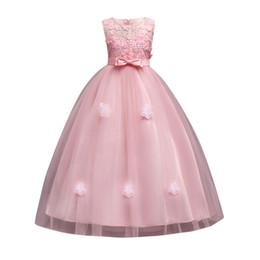 Robe De Mariée Pour Fille Enfants Robe De Fille Élégante Robe De Soirée Enfants Filles Robes Formelle Robes De Bal Vêtements ? partir de fabricateur