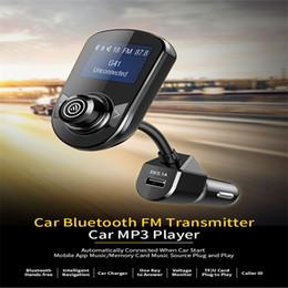 Componente de música on-line-rádio do carro componente Bluetooth transmissor FM carro áudio mp3 player USB carregamento rápido cigarro GPS leitor de música mais leve para