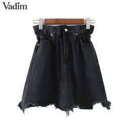 9a6c7661b Shop Women Fashion Denim Skirt UK | Women Fashion Denim Skirt free delivery  to UK | Dhgate UK