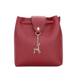 d2e3600c12 Cheap Fashion Herald Fashion Woman Bag 2019 New Pattern Leather Women s  Personality Fawn Single Shoulder Bag Lady s Crossbody Mobile Bags