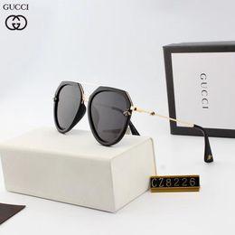 caixa superior de vidro Desconto Chegam novas Designer de Óculos De Sol De Luxo Óculos De Sol Hot Top Estilo Óculos De Sol para Homens de Verão de Vidro UV400 com Caixa de Oculos Masculino