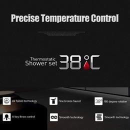 robinet de douche à double poignée Promotion Freeshipping Chrome Thermostatique Bar Robinet Mitigeur Douche Anti-brûlure