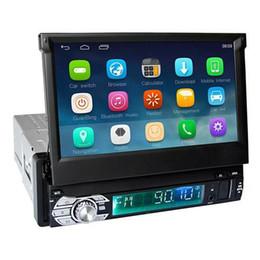 alternar aux Desconto Ezonetronics RM-CT0008 HD 7 Em Car Dash Stereo Radio Único Din Android 5.1 Car Jogador WiFi FM GPS Navigator - Preto
