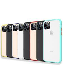 harte fälle Rabatt Matttelefon-Kasten für iPhone 11 XR XS Max X Transparent Auto schwer PC-Abdeckung für iPhone 7 8 6 6S Plus-11 Pro Max XS
