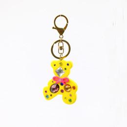 Canada Dessin animé acrylique porte-clés brillant pierre porte-clés série animale mignon porte-clés clé décoration accessoires nouveau design bijoux Offre