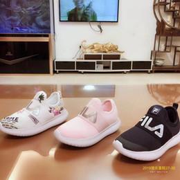 176bf4eb0e04b chaussures de bébé blanc bon marché Promotion Original FILA Chaussures  enfants pas cher Original Blanc Casual