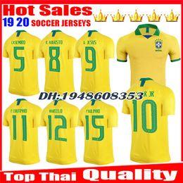 Distribuidores de descuento Jersey Uniforme Brasil  78460905f57d9