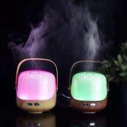 250ml Aroma air Humidificateur Aromatherapy 7 Couleurs LED Lumières Huile Essentielle Aroma Diffuseur Bois Eau De Vaporisation Soins Vapeur ? partir de fabricateur
