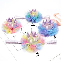 baby einhorn haarnadel glitzernde schwan haarspange florale kopfbedeckung