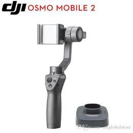 2019 steadicam iphone DJI OSMO Mobile 2 estabilizador de cardán estable original para teléfonos inteligentes de mano IP65 Motionlaps impermeables envío gratis