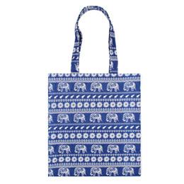 Большие хлопчатобумажные сумки онлайн-Cotton Linen Reusable Shopping Bag Women Printed Tote Bag Eco Grocery Daily Use Handbag Foldable Shoulder Large Capacity