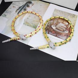 2019 aaa edelstein perlen Aktualisiert neue Mode Zirkon Tierform Halsketten Kupfer Designer 18 Karat vergoldet Partei Schmuck für Frauen tragen