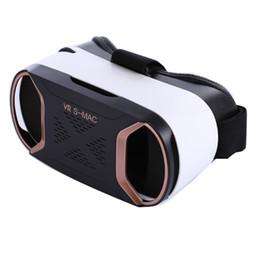 Versiones de caja vr online-Smart VR Glass Cardboard VR BOX SMAC Versión Pro Realidad virtual Gafas 3D Box Head Head Mount para Smartphone 4.5-6 'Teléfono móvil