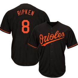 025b7f1ab 2019 new 8 Cal Ripken Baltimore 13 Manny Machado 12 Roberto Alomar Oriol 10 Adam  Jones Men Baseball Jersey